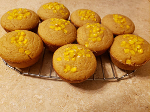 Sourdough Cornbread Muffins