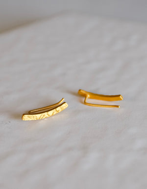 ilios Ear Climbers - Gold