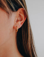Twisted Hoops - Gold
