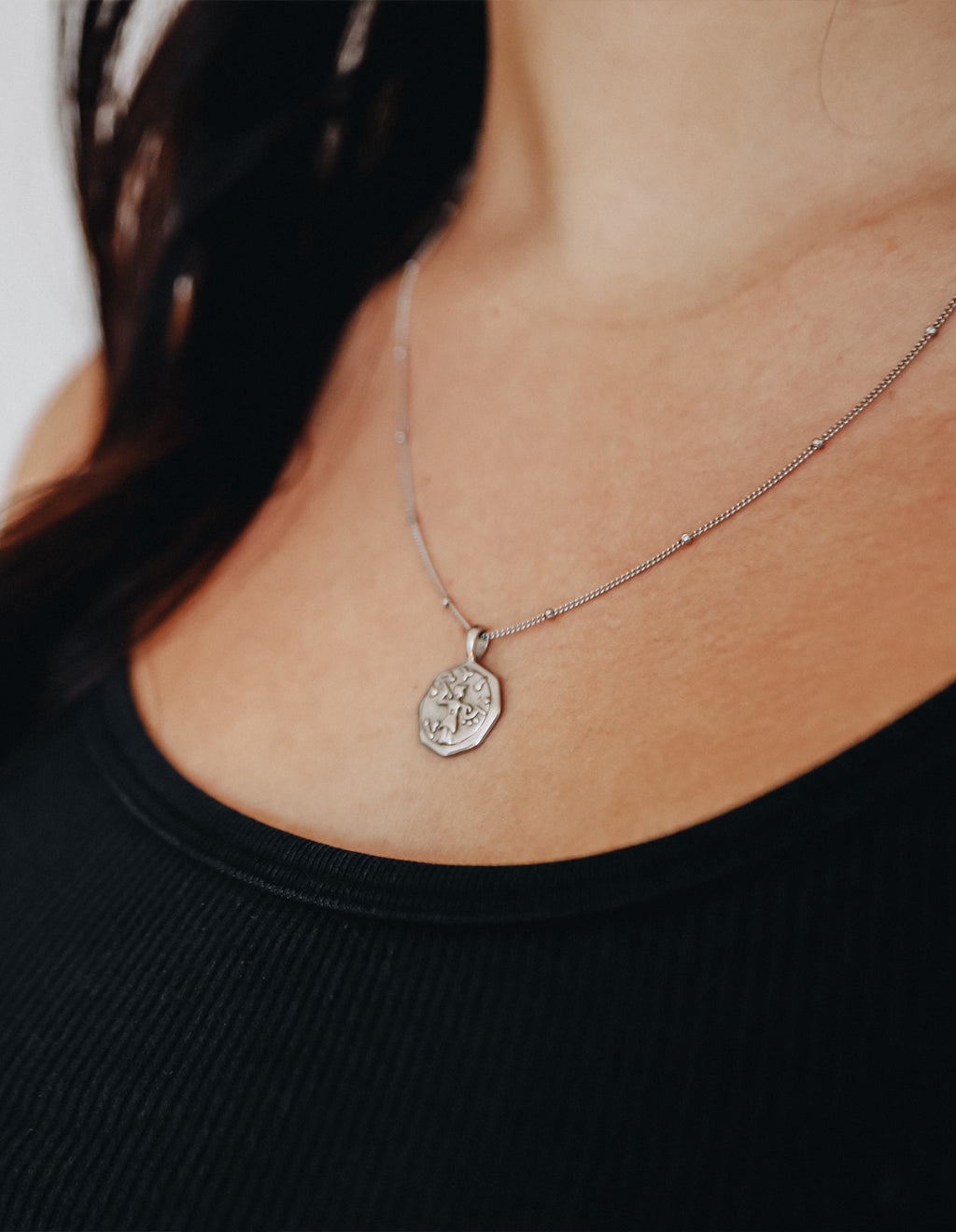Alke Necklace - Silver