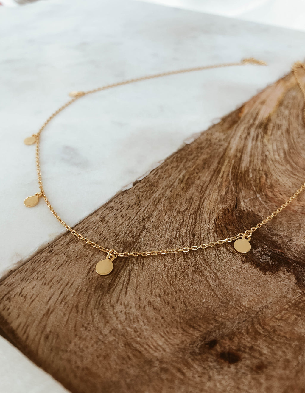 Kallisto Necklace - Gold