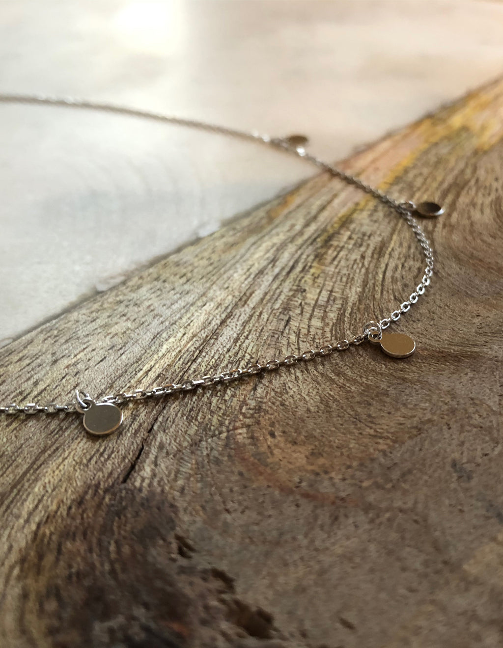 Kallisto Necklace - Silver