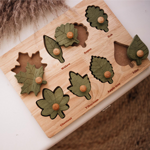 Wooden Leaf Puzzle