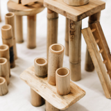 Bamboo Building Set (50 pieces)