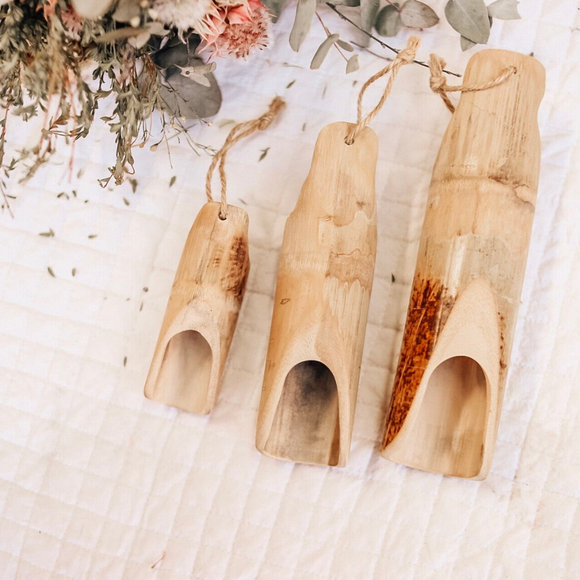 Bamboo Scoop Set