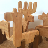 Wooden Animal Construction Set