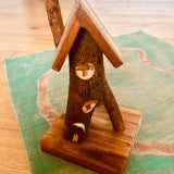 Natural Wooden Fairy House