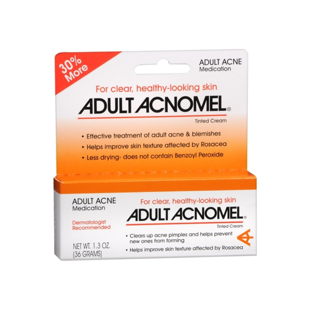 Adult Acnomel Tinted Cream 1.30 oz - Pharmapacks