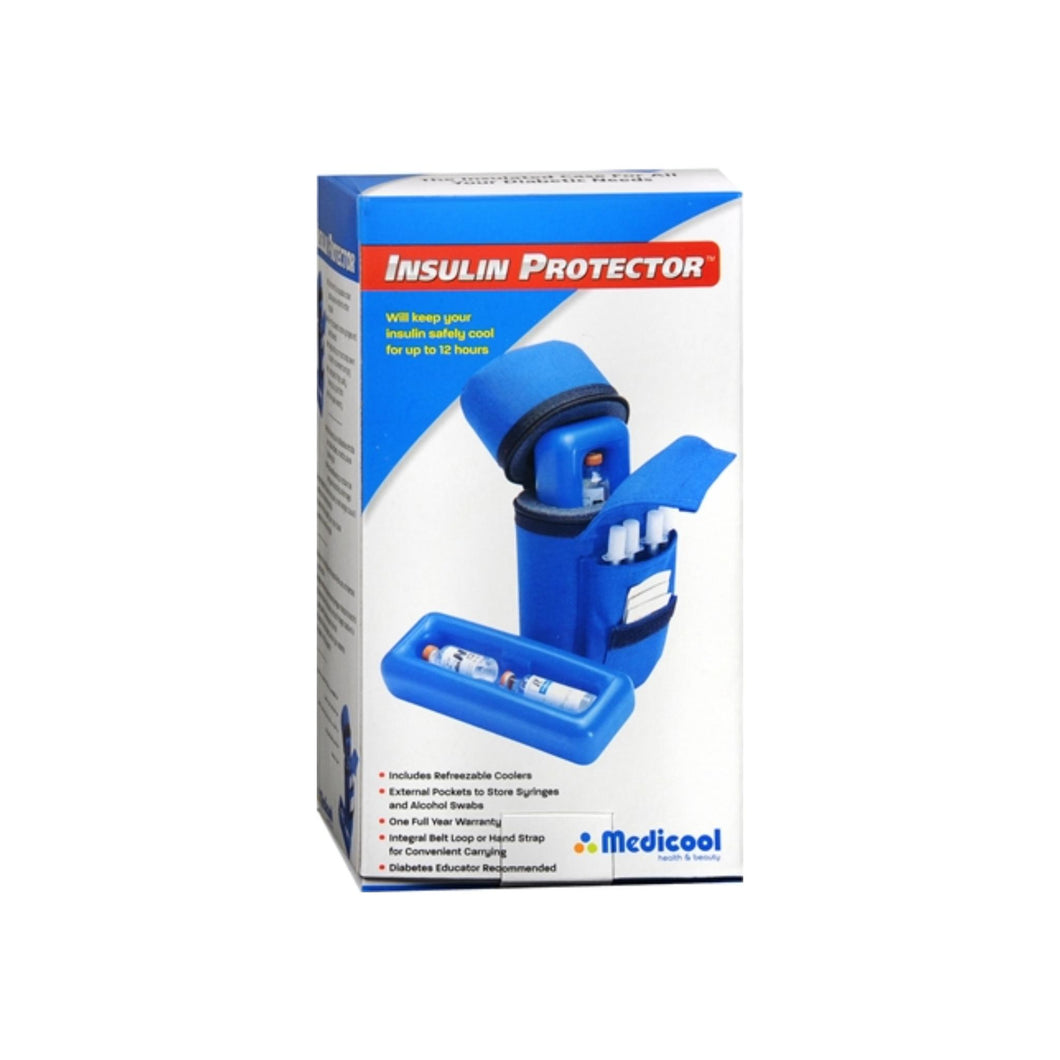 Medicool Insulin Protector Blue 1 Each