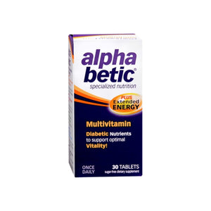 alpha betic Multi-Vitamin Caplets 30 Caplets