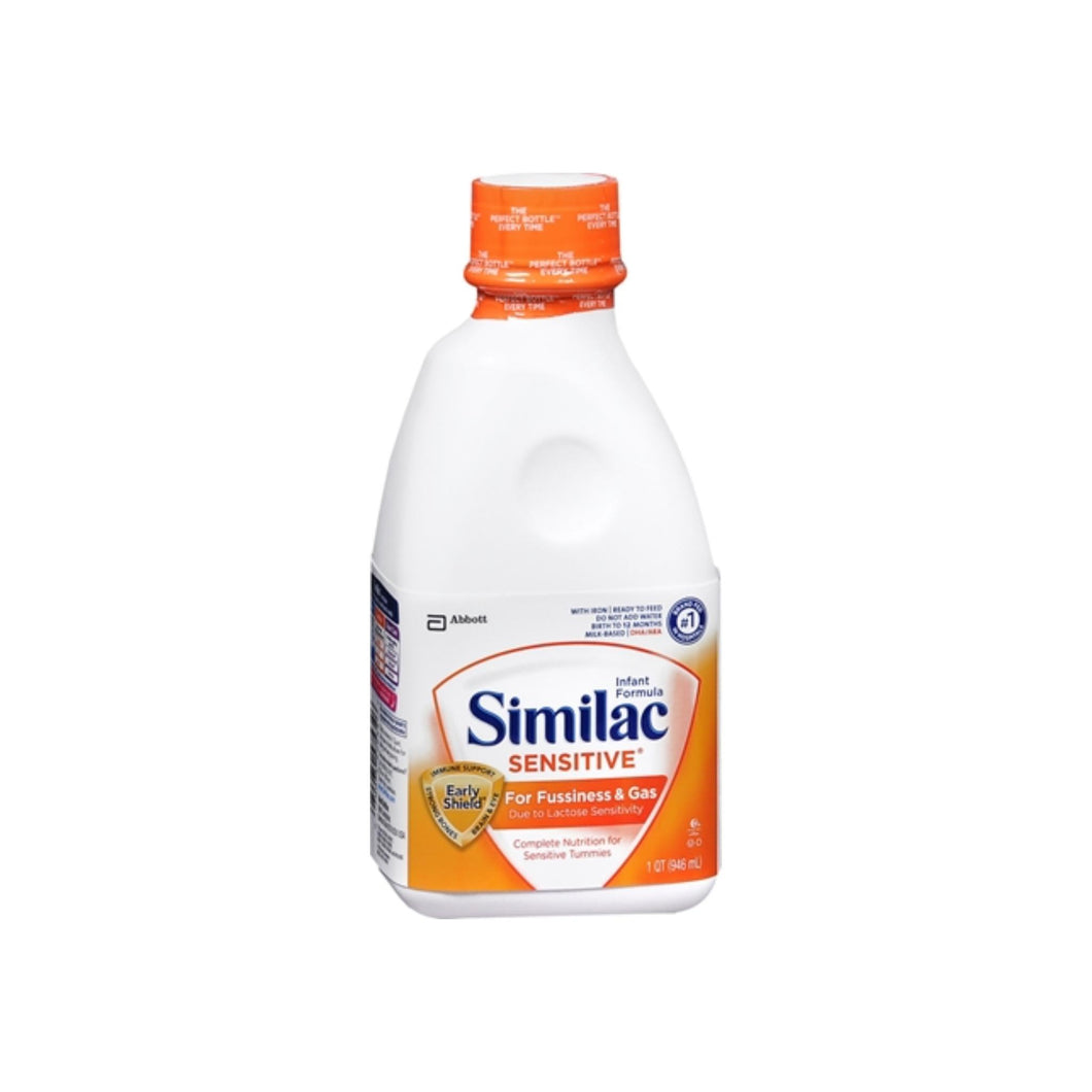 Similac Sensitive Ready-To-Feed With Iron 32 oz