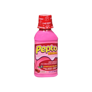 Pepto-Bismol Liquid Cherry 12 oz