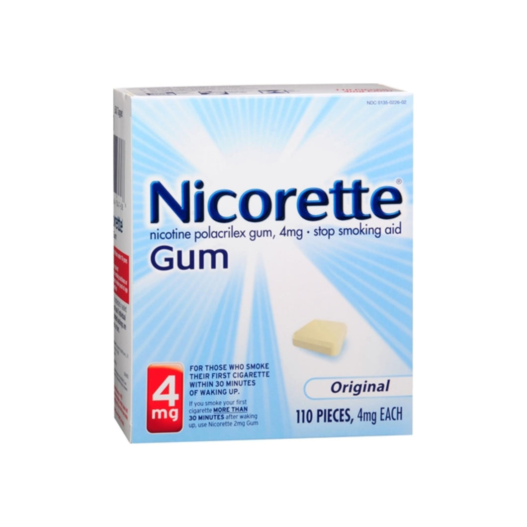 Nicorette 4 mg Original 110 Each