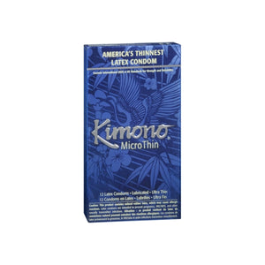 Kimono Condoms MicroThin Latex 12 Each