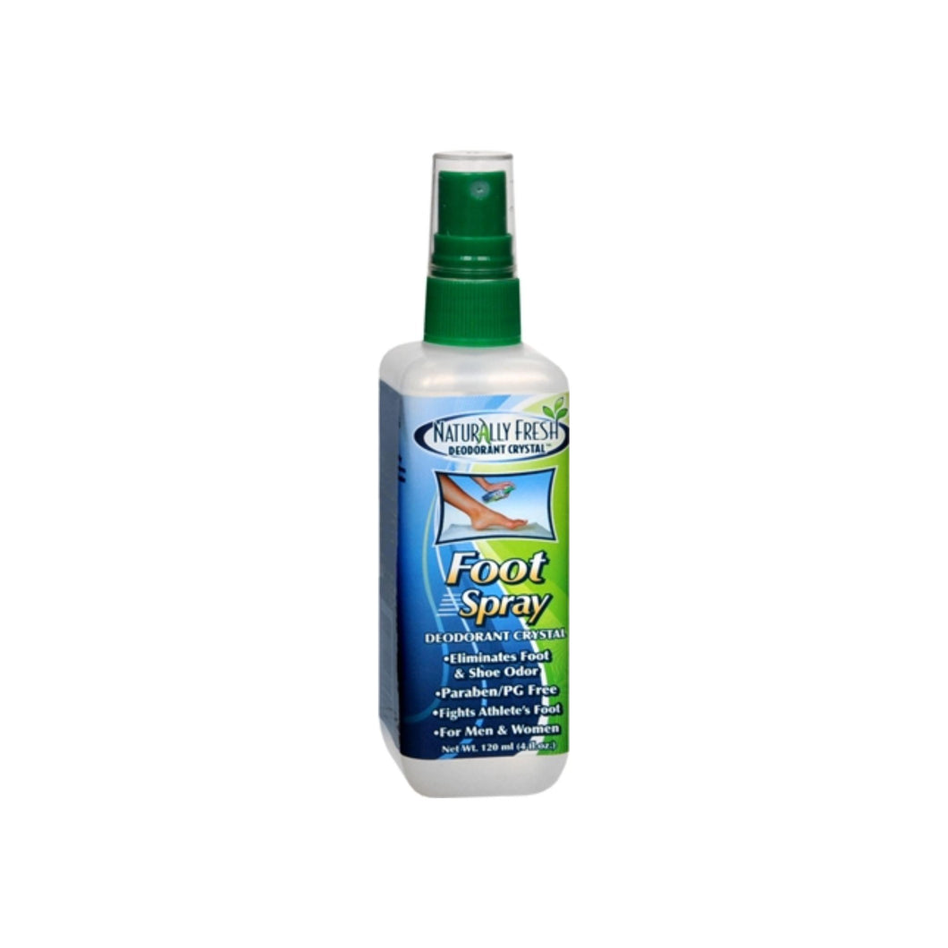 Naturally Fresh Deodorant Crystal Foot Spray 4 oz
