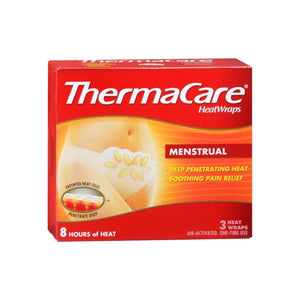 ThermaCare Heatwraps Menstrual Patches 3 Ea