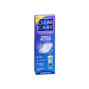 Clear Care Cleaning and Disinfecting Solution 12 oz