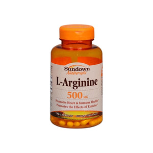 Sundown L-Arginine 500 mg Capsules 90 ea