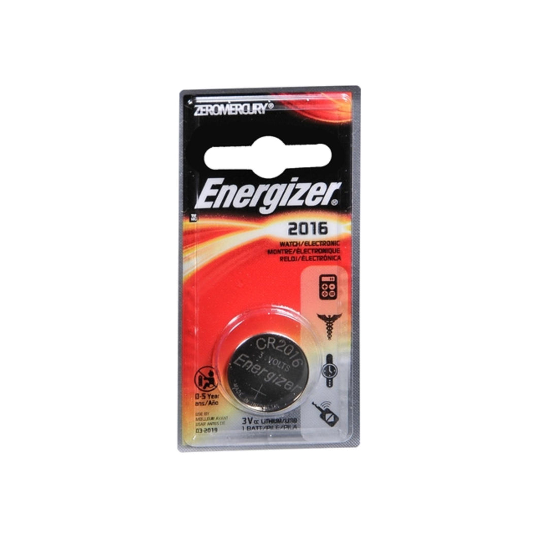 Energizer Watch Battery 3 Volt ECR2016BP 1 Each