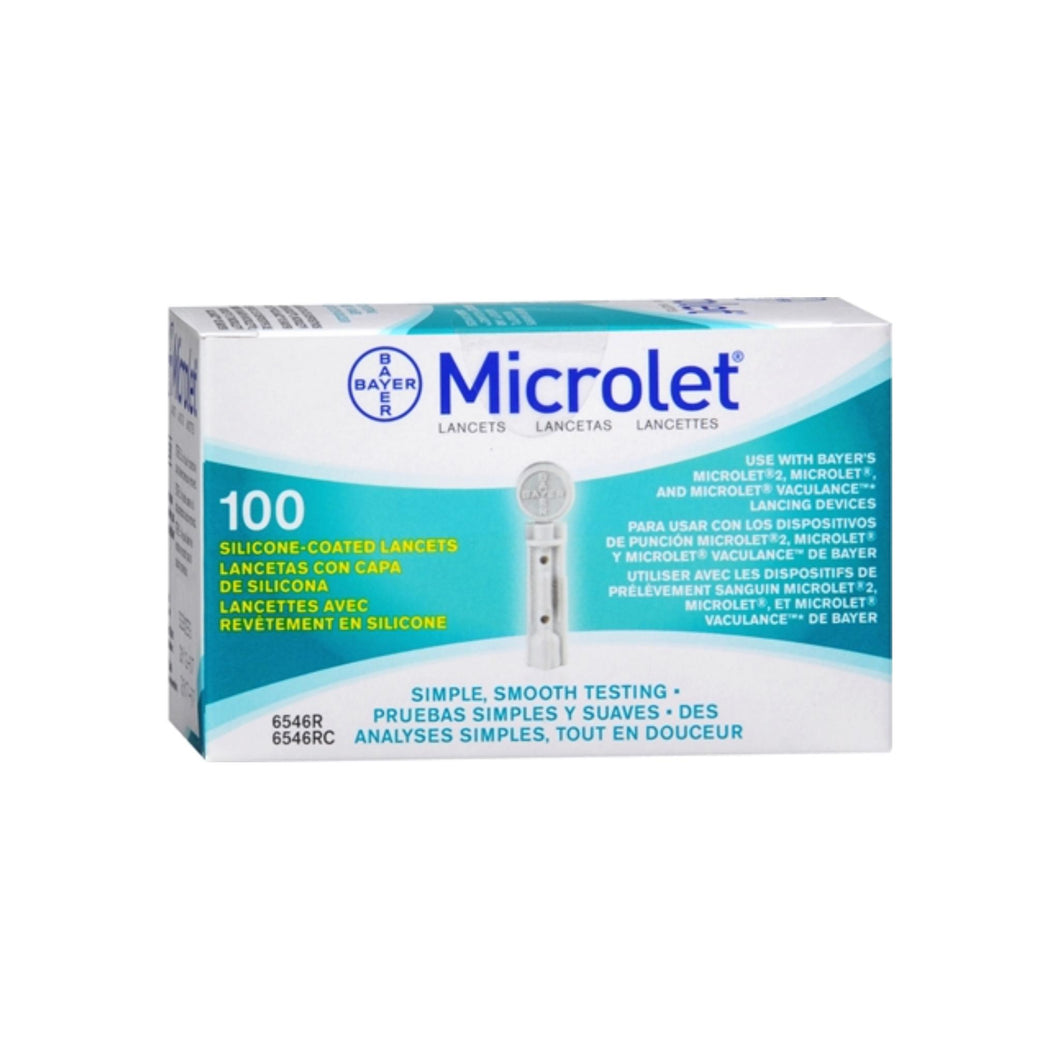 Microlet Lancets 100 Each [301936546212]