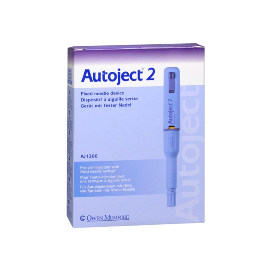 Autoject 2 Removable Needle Device 1 Each