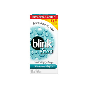 blink Tears Lubricating Eye Drops Mild-Moderate Dry Eye 30 mL