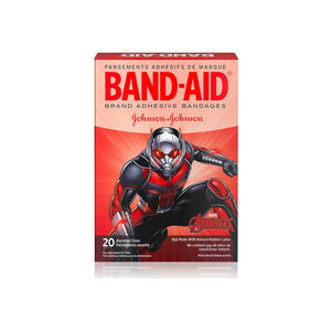 BAND-AID Marvel Avengers Children's Adhesive Bandages, Assorted Characted & Sizes, Colors May Vary 20 ea