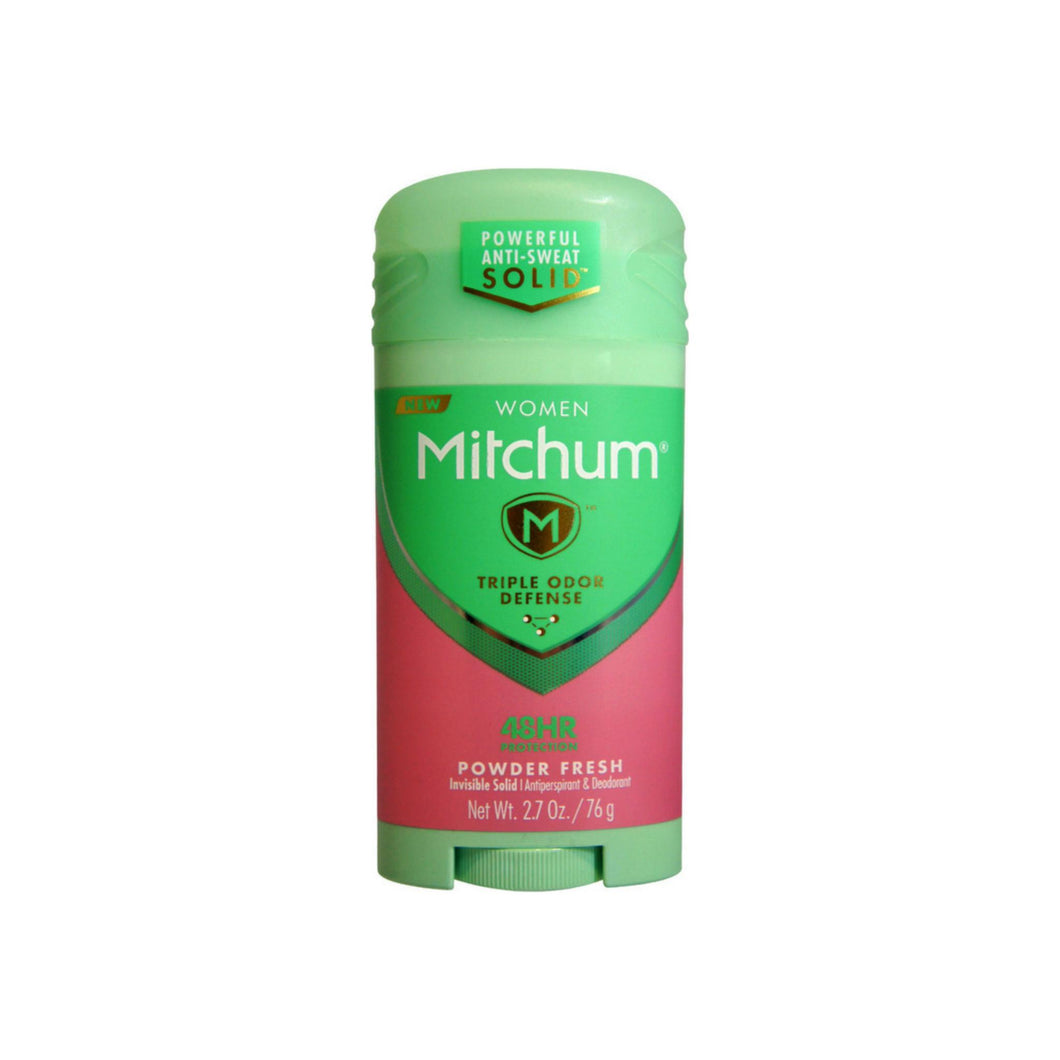 Mitchum For Women Triple Odor Defense Invisible Solid Antiperspirant & Deodorant 2.70 oz