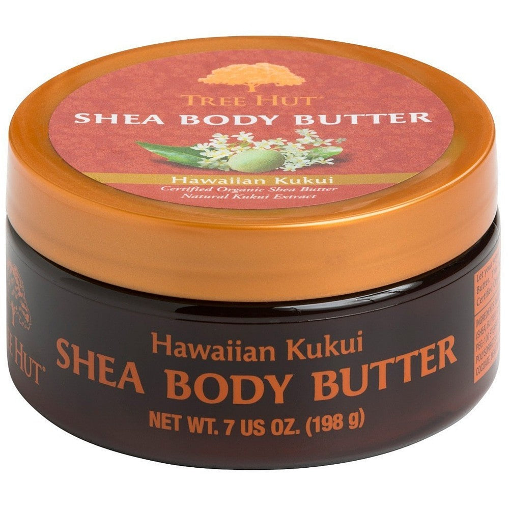 Tree Hut Shea Body Butter, Hawaiian Kukui 7 oz [075371005459]