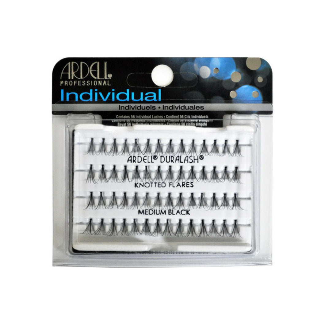 Ardell DuraLash Individual Medium Flare Lashes, Black  56 ea