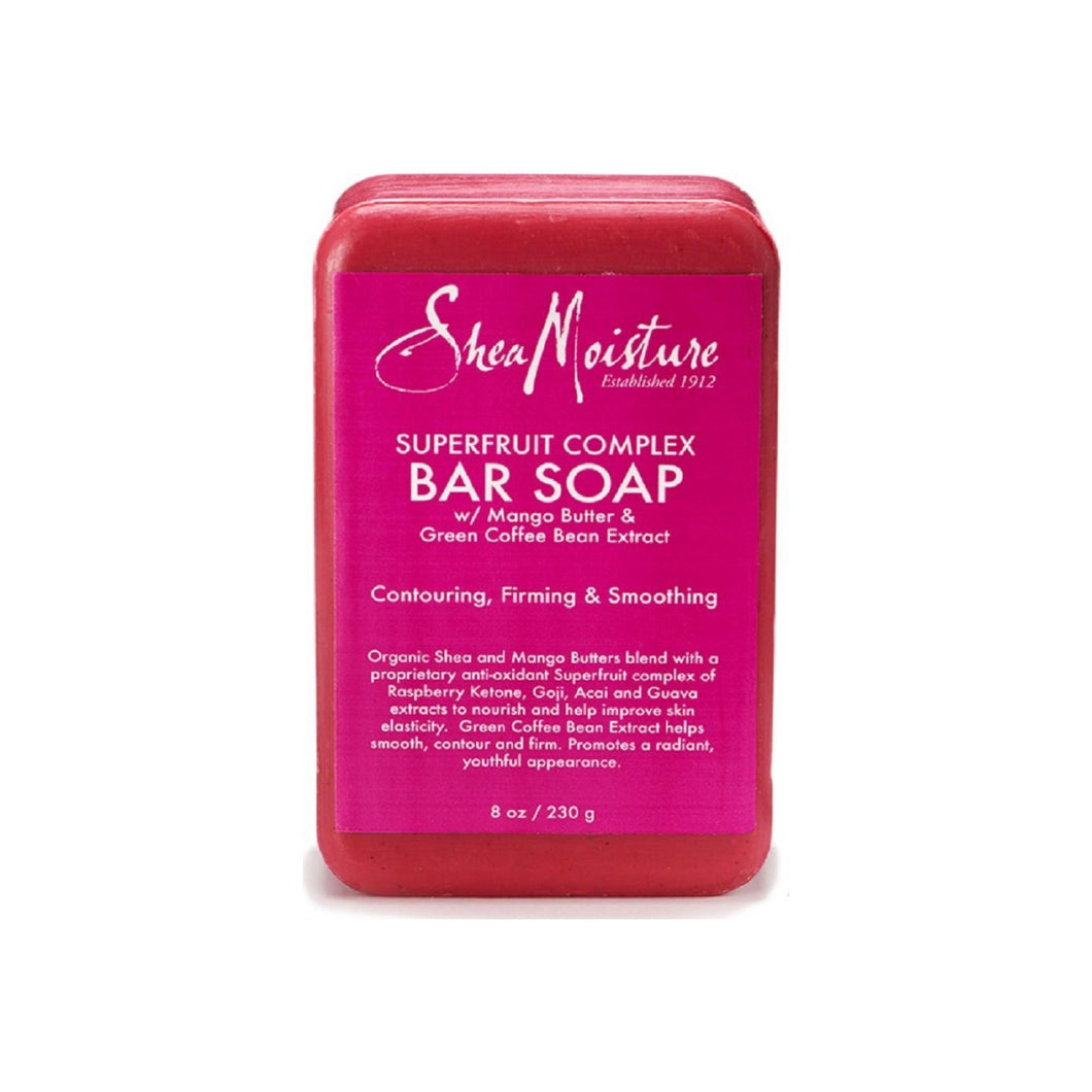Shea Moisture Superfruit Complex Bar Soap with Mango & Green Coffee Bean Extract 8 oz