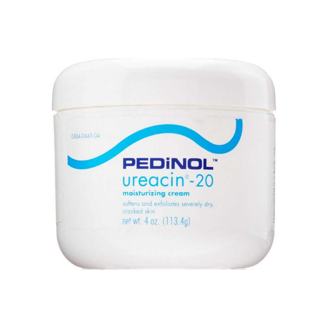 Pedinol Ureacin-20 Moisturizing Cream, 4 oz