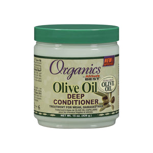 Africa's Best Organics Olive Oil Deep Conditioner 15 oz