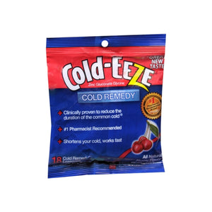 COLD-EEZE Lozenges Natural Cherry 18 Each