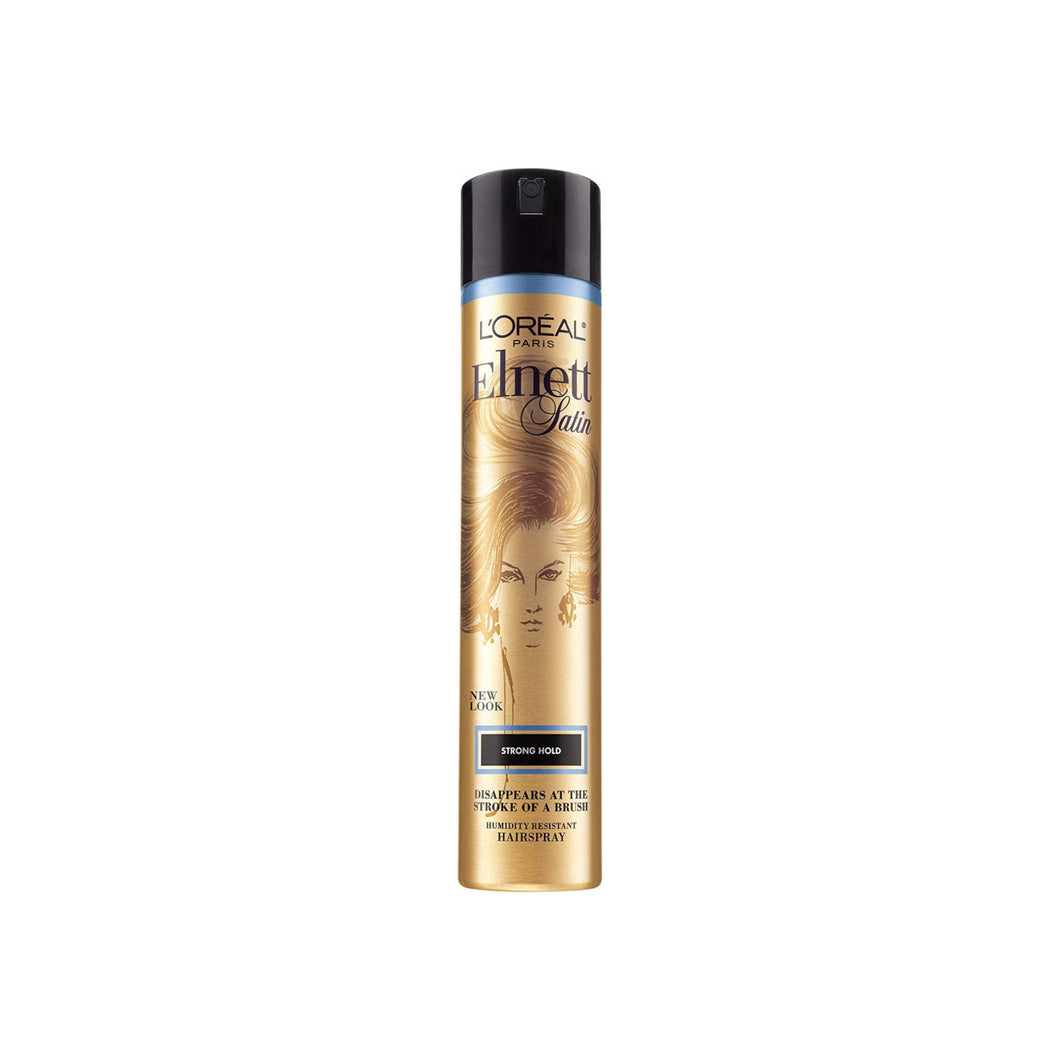 L'Oreal Elnett Satin Hairspray Strong Hold 11 oz