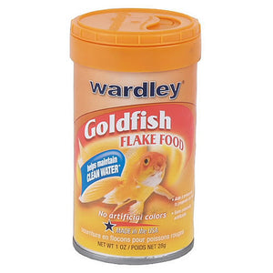 Wardley Products Goldfish Flake Food 1 oz