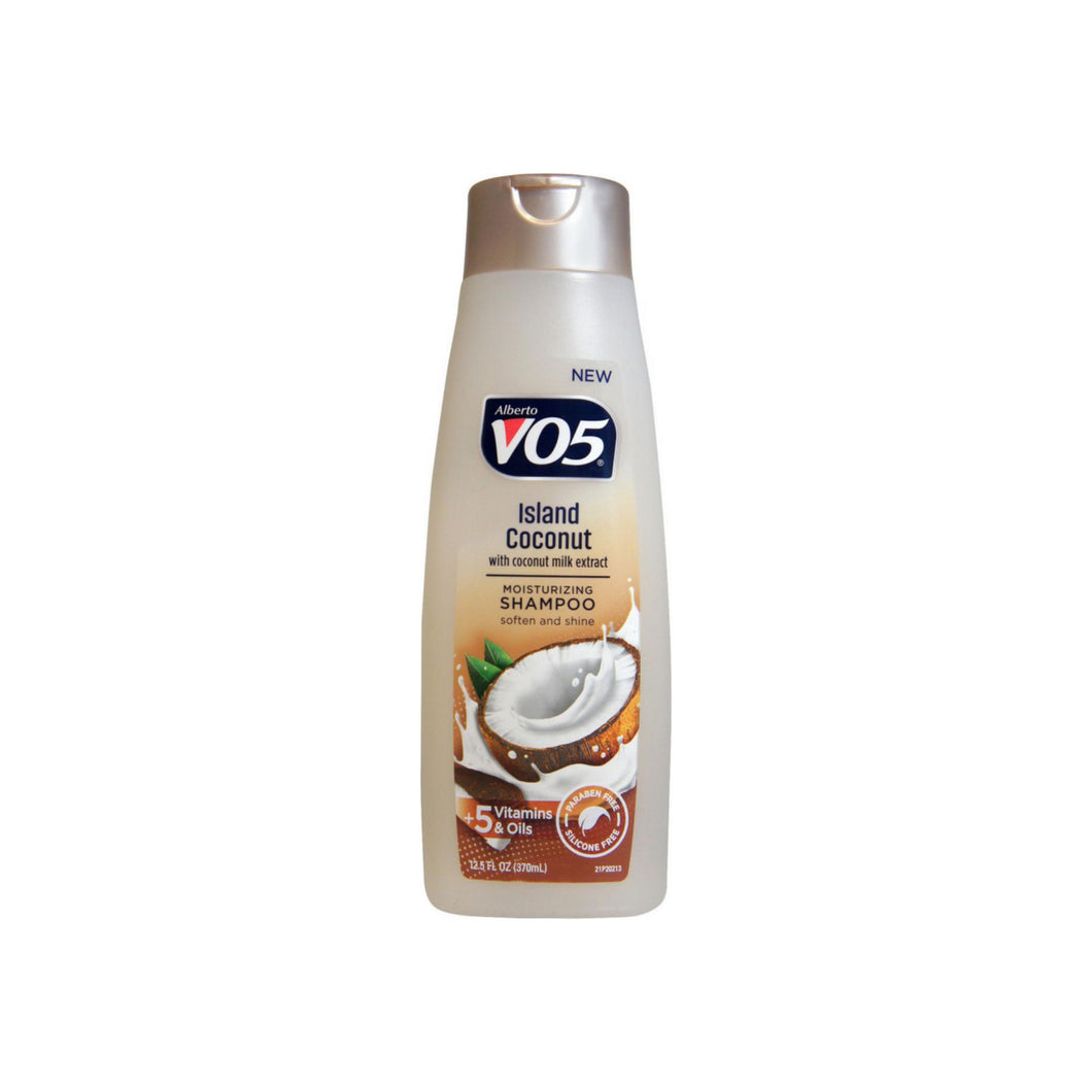 VO5 Island Coconut with Coconut Milk Moisturizing Shampoo, 12.5 oz
