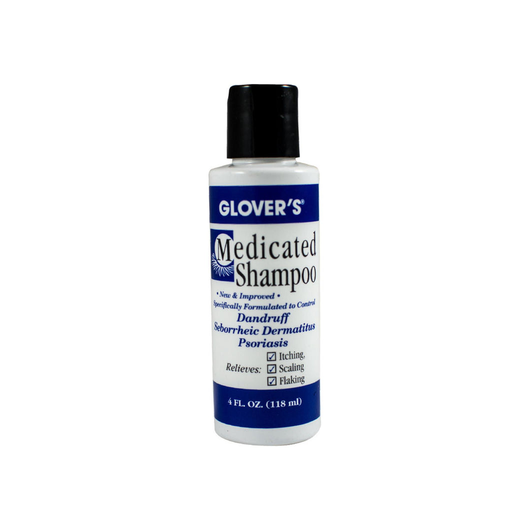 Glovers Medicated Shampoo 4 oz