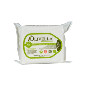Olivella Daily Cleansing Tissues 30 ea