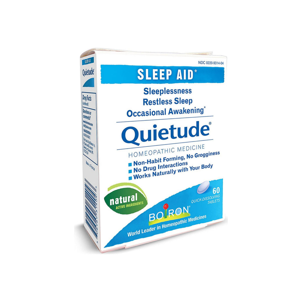 Boiron Quietude Sleep Aid Qucik Dissolving Tablets 60 ea