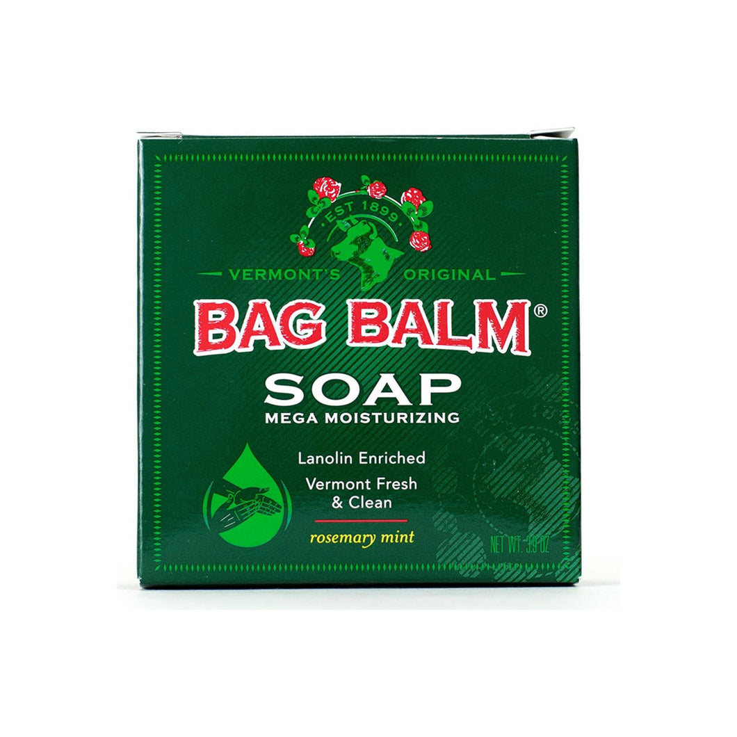 Bag Balm Mega Moisturizing Soap, Rosemary Mint 3.90 oz