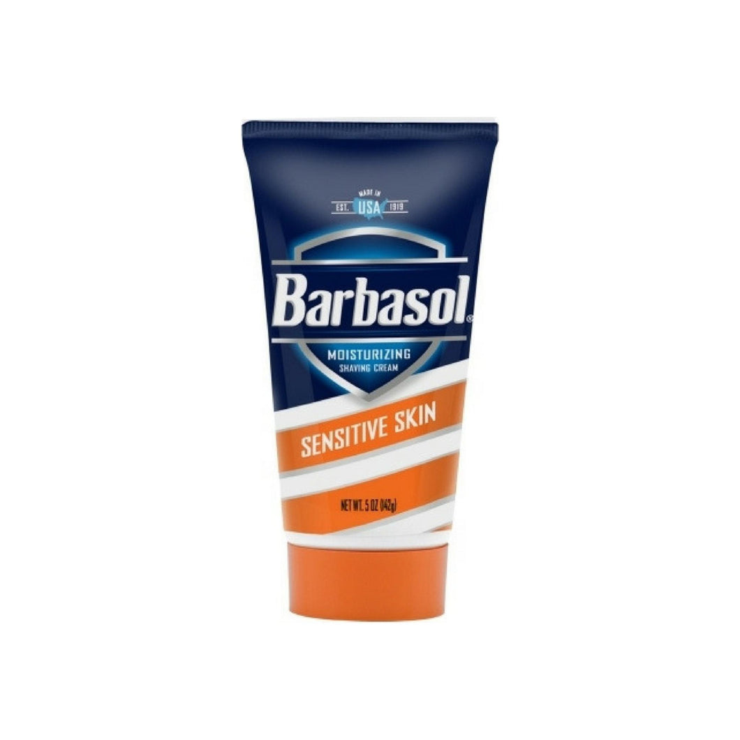 Barbasol Moisturizing Shave Cream For Sensitive Skin 5 oz 1 ea