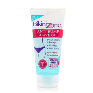 Bikini Zone Anti-Bumps Shave Gel For Bikini Area 5 oz