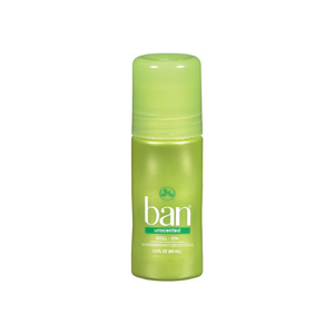 Ban Anti-Perspirant Deodorant Original Roll-On Unscented 1.50 oz