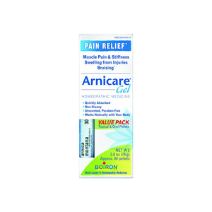 Boiron Arnicare Arnica Gel 2.60 oz Value Pack With Blue Tube