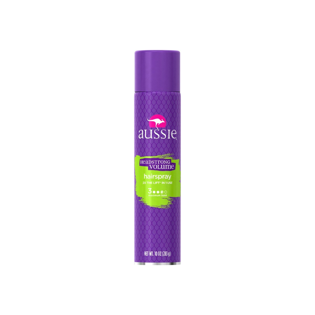 Aussie Headstrong Volume, Hairspray 10 oz