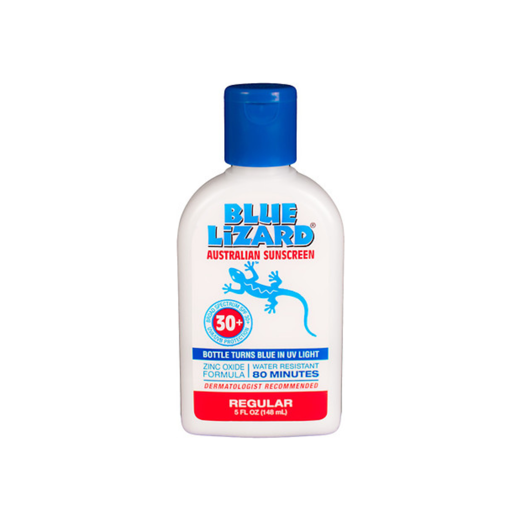 Blue Lizard Australian Sunscreen Lotion, Regular, SPF 30+ 5 oz