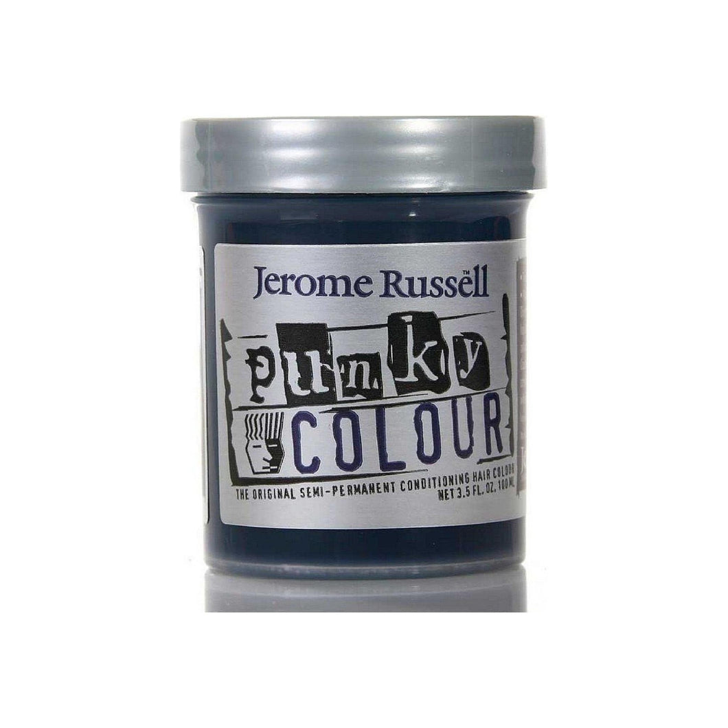 Jerome Russell Punky Colour Semi-Permanent Conditioning Hair Color, Midnight Blue 3.50 oz
