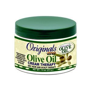Africa's Best Organics Olive Oil Dry Hair and Scalp Cream Therapy 7.5 oz
