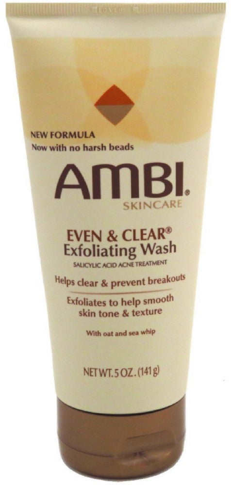 Ambi Even & Clear Exfoliating Wash 5 oz